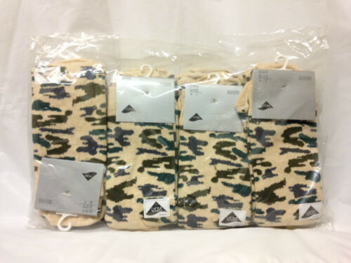 12 Pairs Womens Ladies Girls Lycra Army Camouflage Camo Military Socks Size