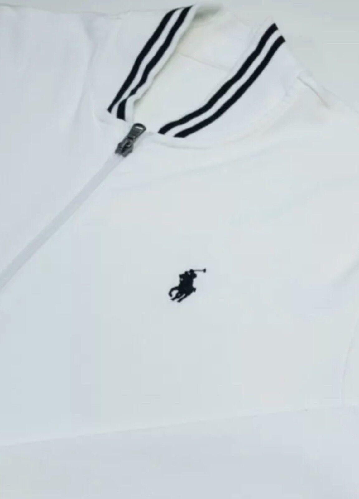 Ralph Ralph Ralph Lauren Bianco Full Zip Jumper 47a108