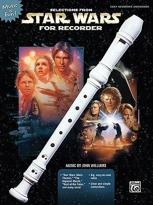Persevering Selections From Star Wars For Recorder Book Only Recorder Book New 000322024 To Clear Out Annoyance And Quench Thirst Instruction Books, Cds & Video Wind & Woodwinds