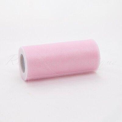 """Tutu Nylon Tulle Rolls SHIMMER 6"""" x 25 yards soft netting craft fabric"""