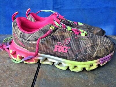 Realtree Outfitters Miss Eagle Girls Tennis Shoes AP Camo /& Hot Pink /& Lunch Box