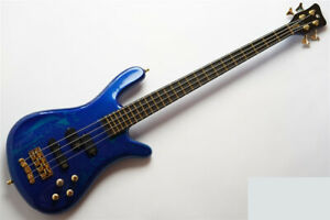 Used Warwick Custom Shop Streamer Stage1 Storm Galaxy Blue Active Nice&Clean