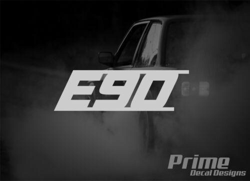 E90 3 Series EURO Car Wall Window Vinyl Decal Sticker