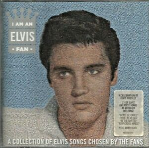 Elvis Presley - I Am An Elvis Fan 2012 Australian CD album new and sealed