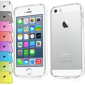 Slim-Apple-iPhone-4-4s-5-5s-TPU-Silicon-Schutz-Huelle-Bumper-Crystal-Case-Tasche