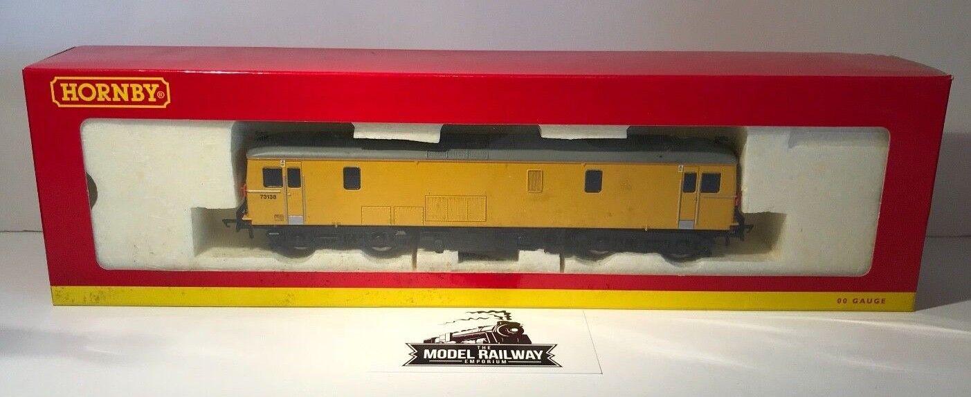 HORNBY 00 GAUGE - R3136 - NETWORK RAIL CLASS 73 138 DIESEL LOCOMOTIVE - BOXED