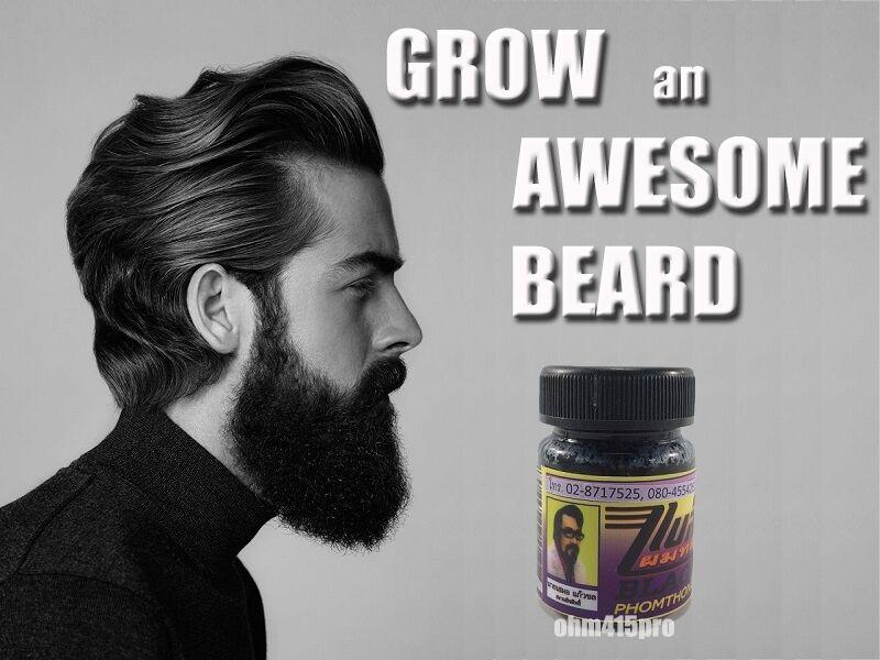Beard Growth Spray 10ml Oil Grow Stimulator 100 Natural Accelerate Hair