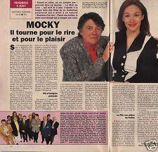 Coupure de presse Clipping 1993 Jean Pierre Mocky  (1 page 1/2)