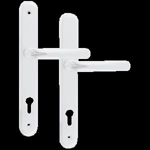 215mm Screw Centres,92 PZ,261mm Length White AVOCET AFFINITY Lever UPVC Handle