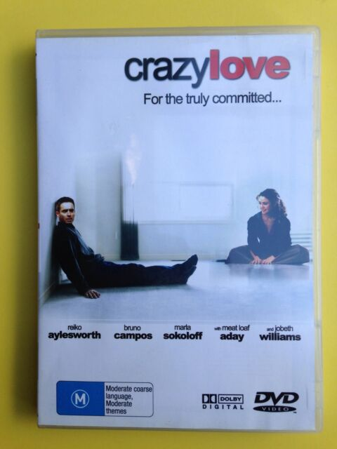 CRAZY LOVE  DVD R4 REIKO AYLESWORTH, BRUNO CAMPOS Aussie Seller Free Post