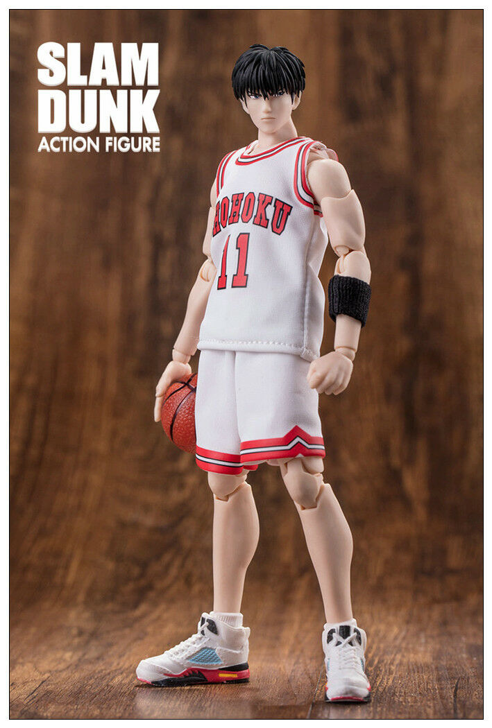 Pre-order Dasheng Slam Dunk 1 10 Model NO. 11 Kaede Rukawa White jersey Toy