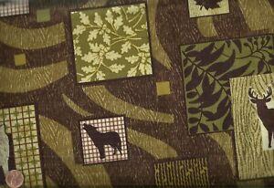 Northern-Expression-wildlife-bark-Benartex-fabric