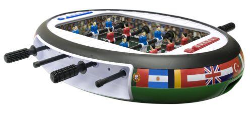 Tischkicker Mini als Tischauflage 72 x 51 cm groß im Stadiondesign