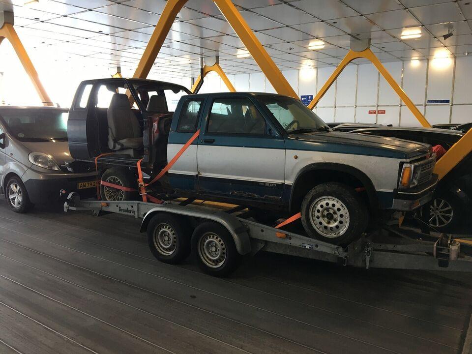 Chevrolet S10 årg. 1992: Førerhus