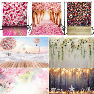 Flower Wall Photo Video Photography Studio Muslin Backdrop Background Screen USA