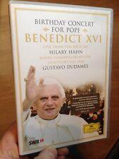 Birthday Concert For Pope Benedict XVI-Hilary Hahn Gustavo Dudamel(UKDVD)Vatican
