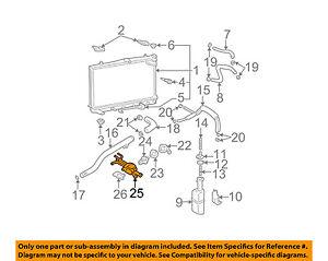 image is loading 2002-2006-hyundai-elantra-engine -coolant-thermostat-housing-
