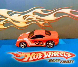 Loose-Hot-Wheels-HW-2007-Mystery-Cars-RAPID-TRANSIT-Orange-OO-Ex-Condition-VHTF