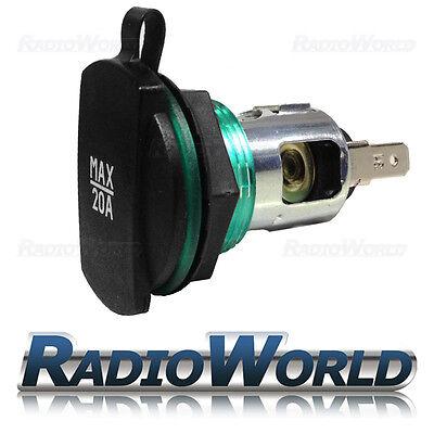 12v / 24v 20A Cigarette Lighter Socket Power Supply / Outlet High Quality Cover