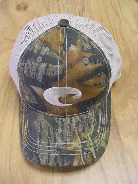 28accd3ccf Costa Del Mar Mesh Adjustable Cap Hat Camo Stone for sale online