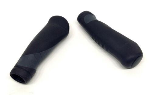 EVO Comfort Gel Ergonomic Bicycle Handlebar Grips 135mm Black//Grey