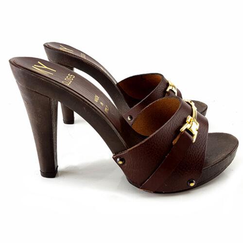 Clogs Craft-Brown from 35 Al 41 - Heel 11-MY315 Brown