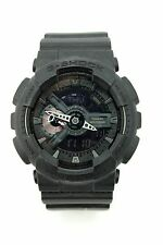 Casio 5146 G-Shock GA-110 Mens Black Subdued Sports Watch Quartz