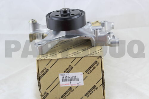 1663050011 Genuine Toyota PULLEY ASSY IDLER 16630-50011