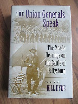 2003 1st~UNION GENERALS SPEAK~HYDE~MEADE HEARINGS~GETTYSBURG~AMERICAN CIVIL WAR