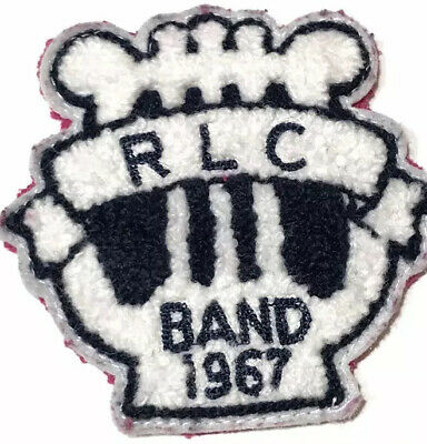 """3/"""" Circle Sew Iron On Patch High School College Musician Marching Band Mom"""