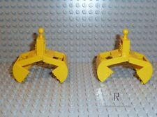 LEGO® Technic 2x Greifarm Kranarm Bagger Schaufel gelb 3492 ohne Feder R320