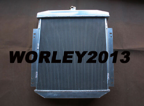 3 core aluminum radiator for FORD Fairlane Sedan Wagon Mainline 1954 1955 1956