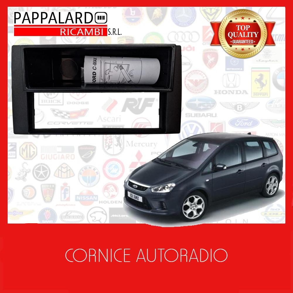 11-770 Doppio Din Radio Stereo Auto in Plastica Pannello di fascia per FORD TRANSIT 2014+