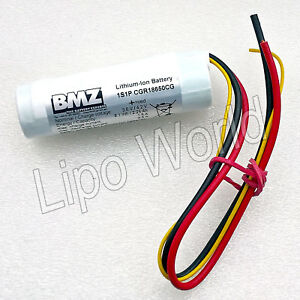 Li-Ion-Akku-BMZ-CGR18650CG-1S1P-3-6V-2250mAh-Rundzelle