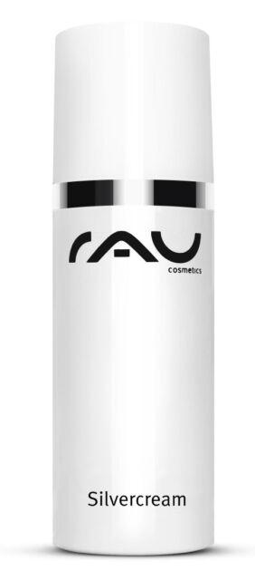 RAU Cosmetics Silvercream 50 ml Gesichtscreme für unreine Haut mit Microsilber