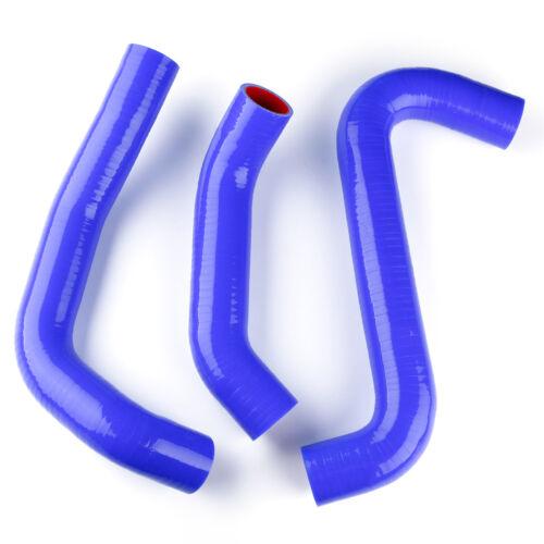 For Subaru Legacy L//GT 2.5L 2000 2001 2002 2003 2004 Blue Silicone Radiator Hose