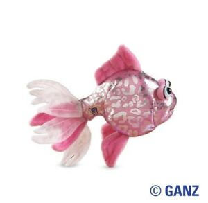 Webkinz-Lil-Kinz-Pink-Glitter-Fish-New-and-Unused-with-Tags