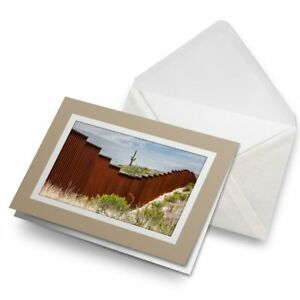 Greetings-Card-Biege-USA-Mexican-Border-Wall-Mexico-America-24361