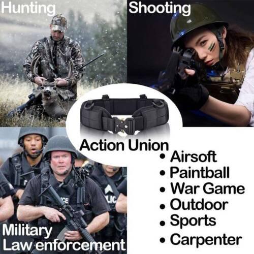 Taktisch Militär Molle Taille Gürtel Gepolsterte Kampfschlacht Gürtel Gurt