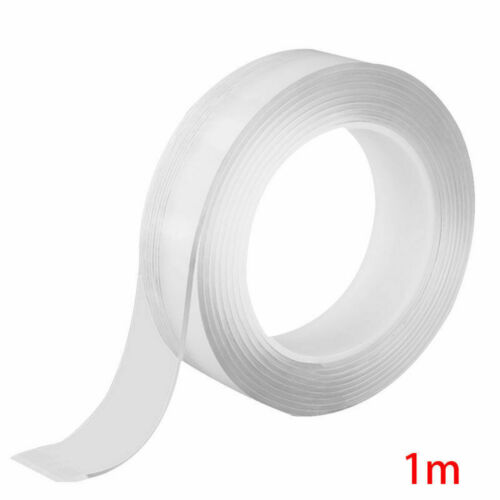 Reusable Magic Nano Tape Double Sided No Trace Adhesive Clear Tape Removable Neu