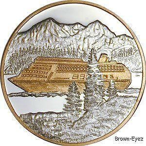 Alaska Mint Cruise Ship Silver Medallion Proof 1oz Ebay