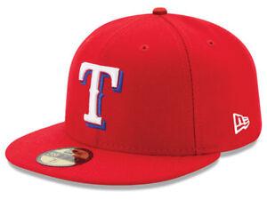 531c94a4c62bd7 New Era Texas Rangers ALT 59Fifty Fitted Hat (Red) MLB Cap   eBay