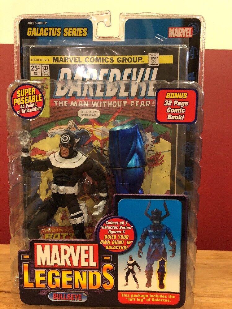 JugueteBIz MARVEL Legends Bullseye Baf Figura construir una figura Galactus Serie leftleg