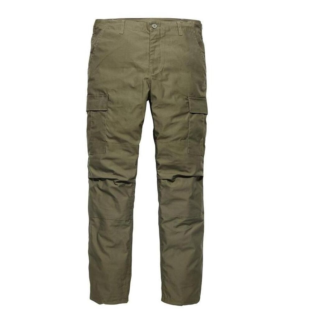 Vintage Industries - Bdu Pant Green Olive US Ranger Cargo Trousers