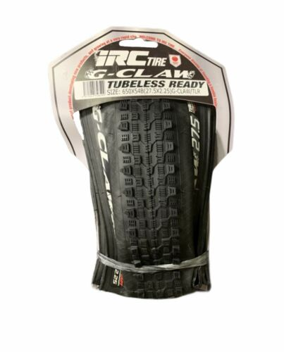 Tubeless Ready Cross Country Mountain Bike Tire 650bx54 IRC G Claw 27.5x2.25