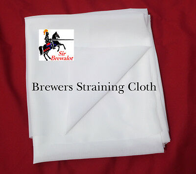 Brewers Straining Cloth. Winemaking, Beermaking, Cheese making, stable pore size