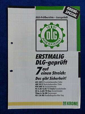 KRONE HIGHLAND Steilhangtechnik Mähwerke 9610 Wender Schwader Prospekt
