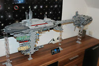 Lego Star Wars Nebulon B UCS MOC Modell Bauteileliste und Bauplan