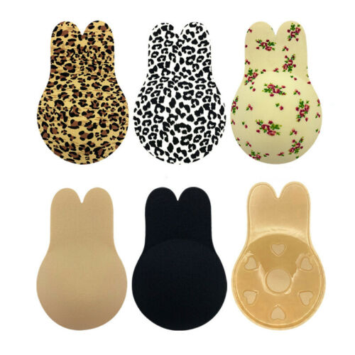 Silicone Self-adhesive Strapless Gel Invisible Bras Backless Push-Up Stick-On