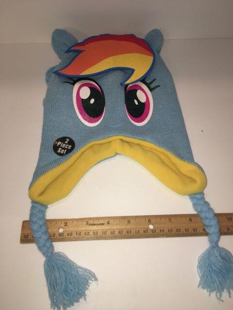 74c2261c347 ABG Accessories My Little Pony Girls Rainbow Dash Hat and Gloves ...
